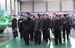 河南省委常委、洛阳市委书记李亚到我司调研