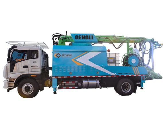 耿力GHP25C-IV车载混凝土湿喷台车